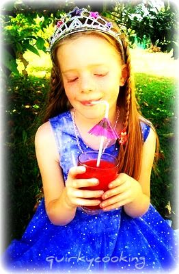 Raspberry Lemonade - Quirky Cooking