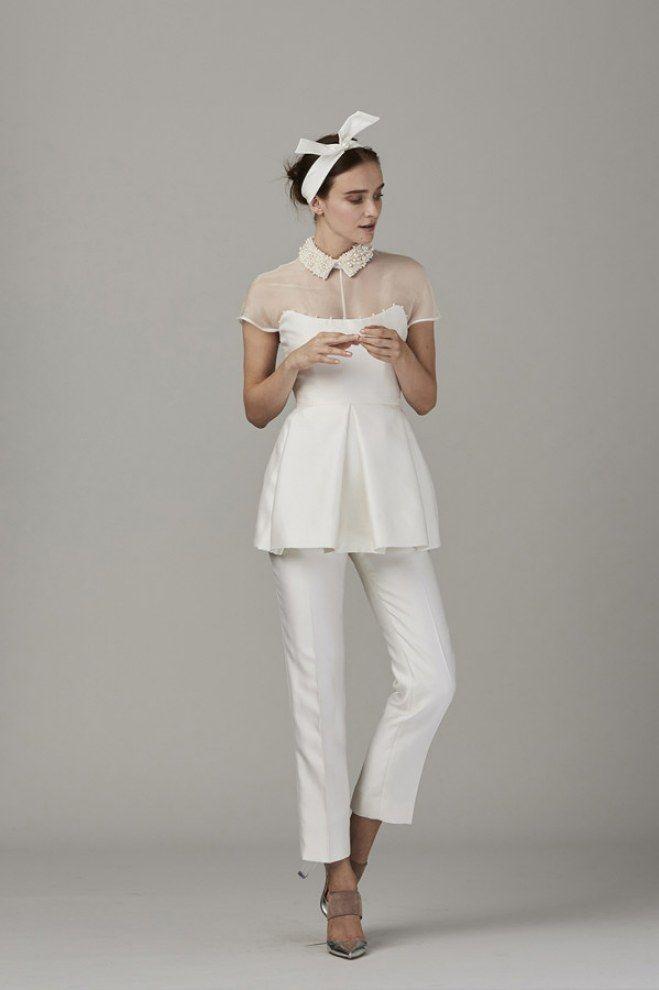 34 best Wedding Pantsuits images on Pinterest   Bridal gowns ...