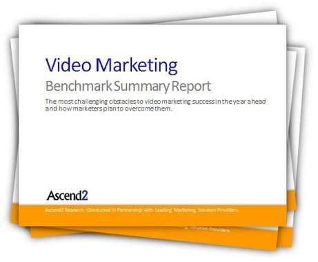 Video has become the most engaging form of communications for marketing purposes and is an increasingly important piece of the online marketing mix.  This Video Marketing Benchmark Summary Report is free and loaded with research you can use to manage and optimize your video marketing performance.