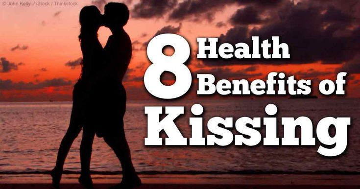 Kissing not only feels good, it's good for you. Here are the 8 health benefits of kissing: