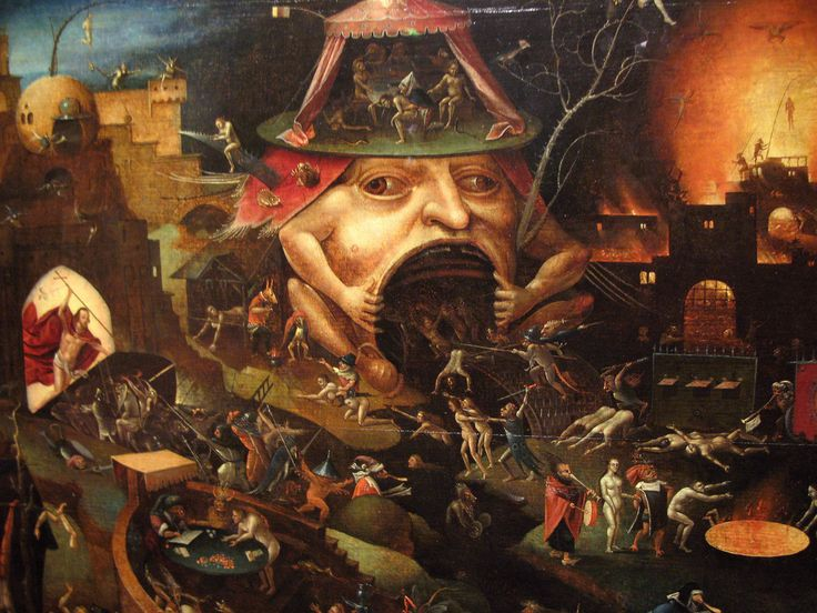 Pupil of Hieronymus Bosch