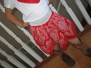 Bandana Skirt: Bandanna Skirt, Craft, Skirts, Hankerchief Skirt, Easy Hankerchief, Party Ideas, Bandana Skirt, Skirt Tutorial