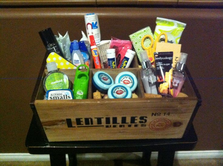 Wedding Bathroom Basket