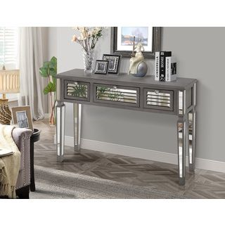 17 best ideas about sofa end tables on pinterest rustic end tables bedroom end tables and - Mirrored console table overstock ...