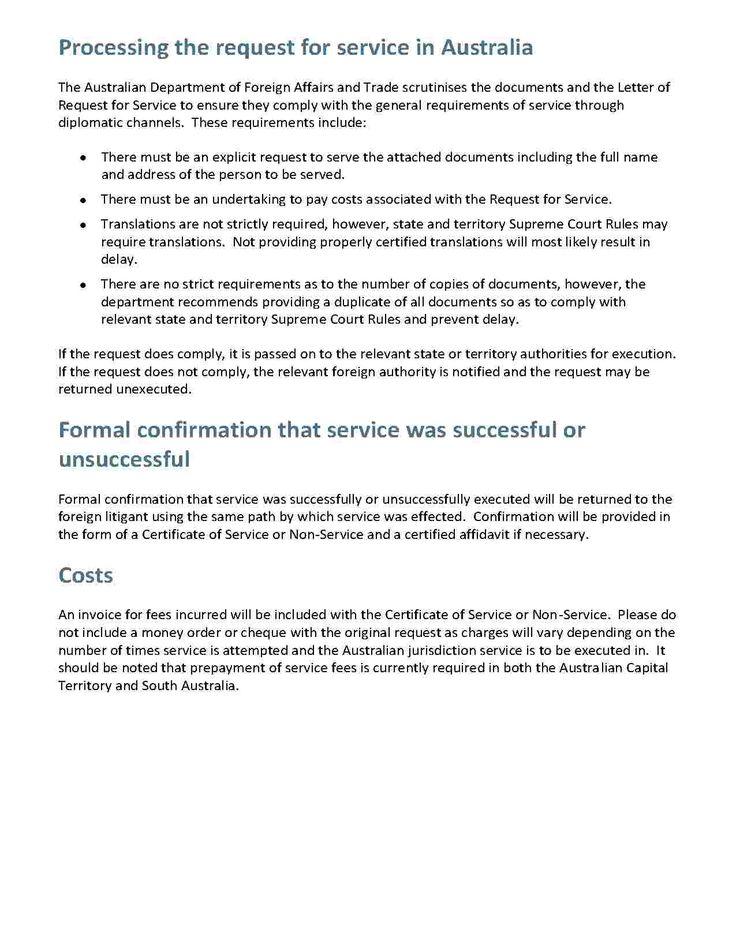 Affidavit of Service Templates, Service, Lettering