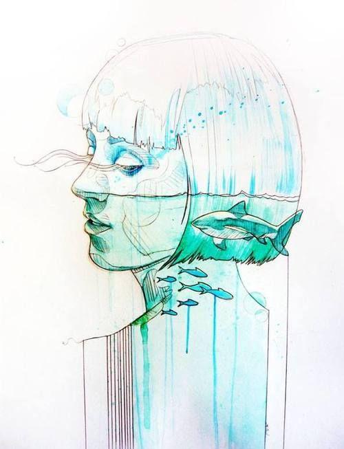 Mithil Thaker #girl #drawing