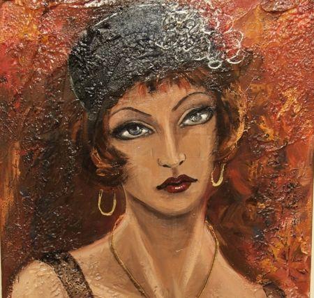 Gal - emberek, festmények, művészeti, szépség, hűvös