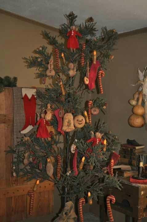 153 best CHRISTMAS DECORATIONS images on Pinterest Primitive - primitive christmas decorations