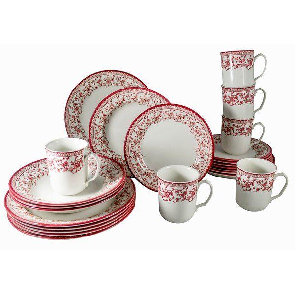Royal Classic 24 Piece Dinnerware Set Service For 6 Dinnerware Porcelain Dinnerware Square Dinnerware Set