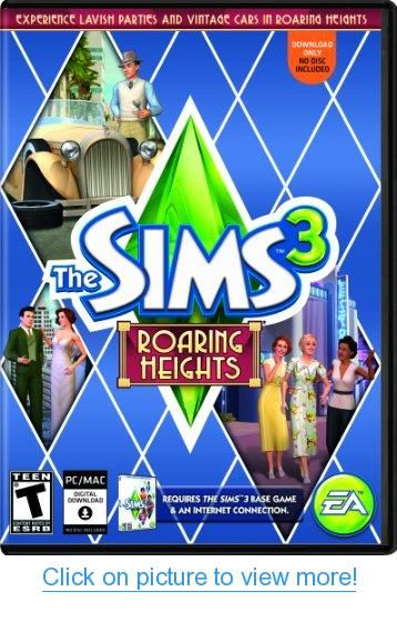 The Sims 3 Roaring Heights (Mac) [Online Game Code]
