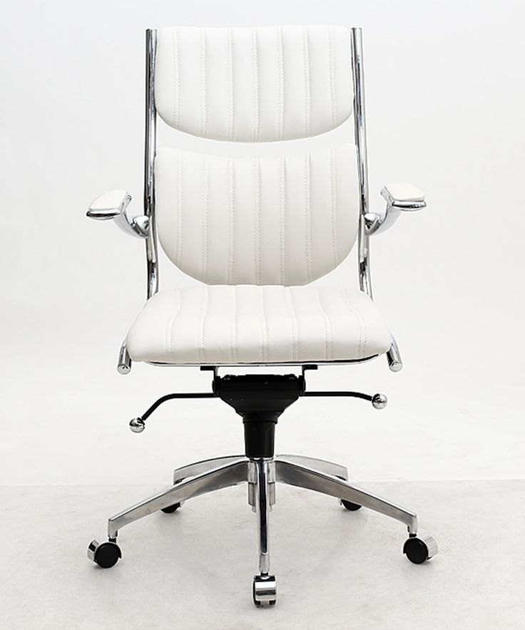 Take a look at this White Verdi Ergonomic High-Back Office Chair today!