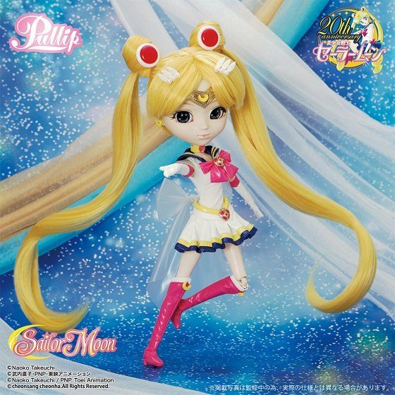 Super Sailor Moon Pullip Doll