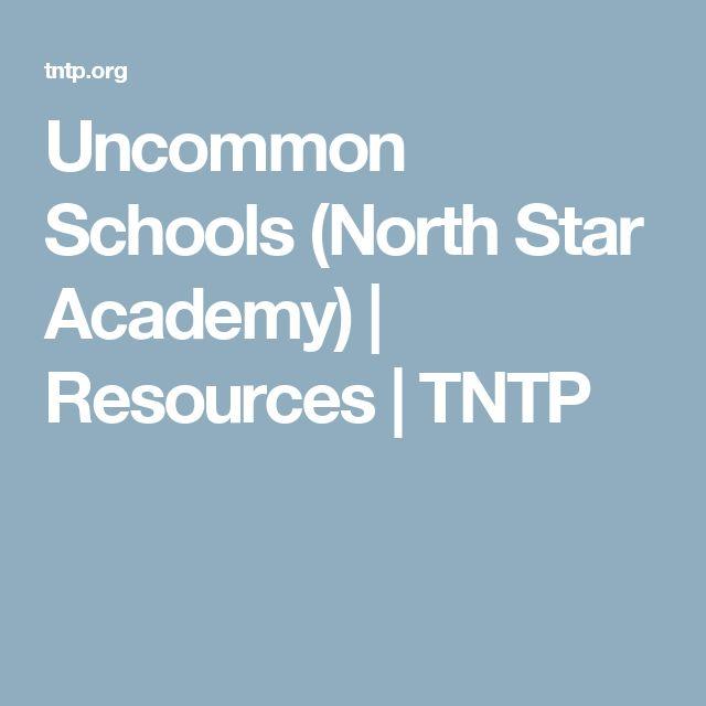 Uncommon Schools (North Star Academy) | Resources | TNTP