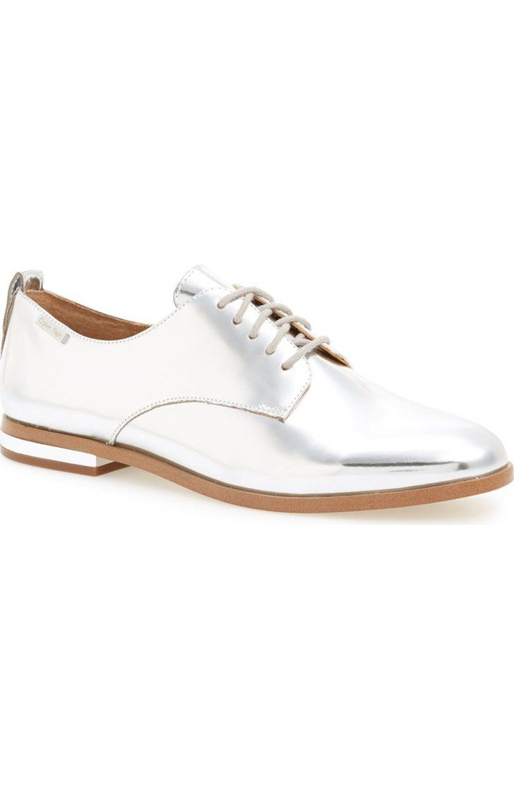 Pin for Later: 23 Commute-Friendly Shoes to Wear to Work in the Summer  Calvin Klein Camella Oxford ($119)