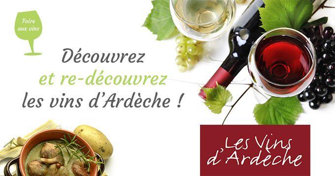 Accords mets et vins d'Ardèche