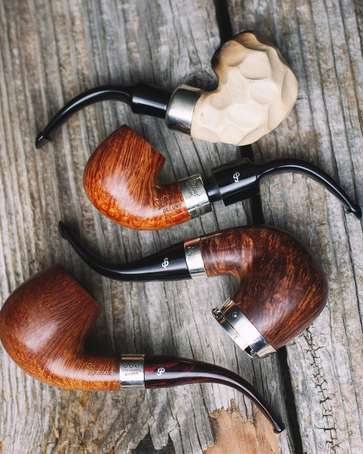 Silver Caps a Meerschaum Sherlock Holmes edition and generally hard to find Peterson shapes. 36 Irish Estate pipes are on site now. http://smokingpip.es/2F9Cw9a