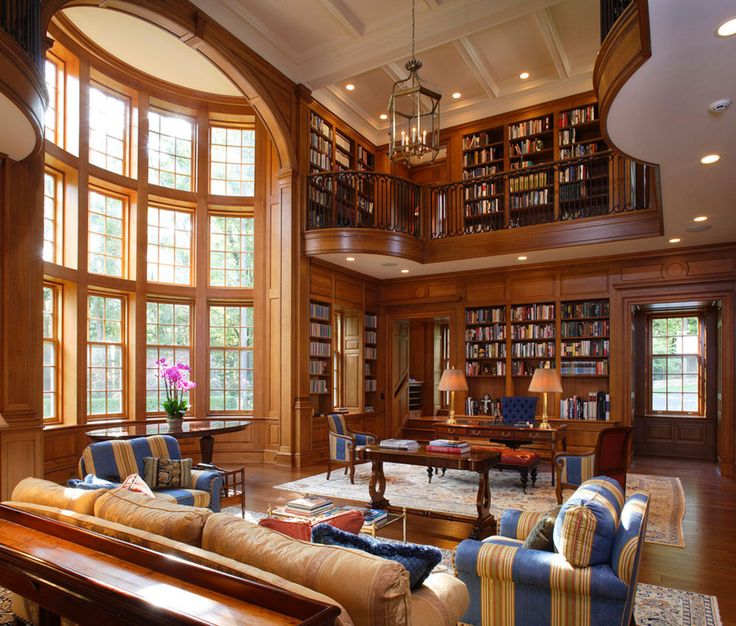 creating a home library design will ensure relaxing space - Library Design Ideas