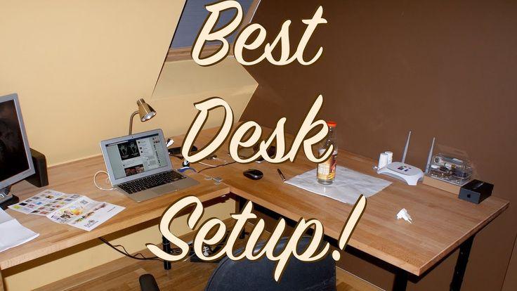 Best desk setup ever! #smallyoutuber #smallyoutubers