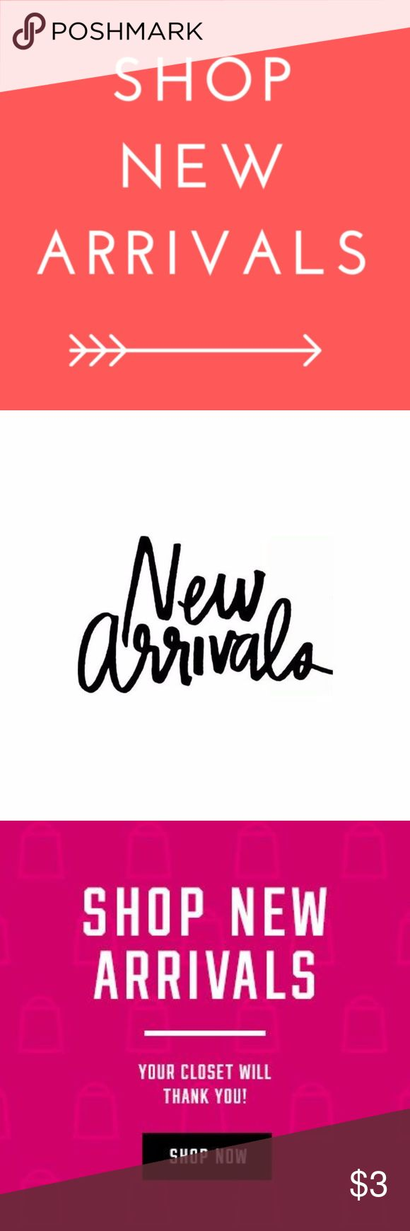 NEW TODAY 11/30 Shop newly listed items. New 'must haves' added daily!!   Searching for a specific size or item? Comment below what you are looking for, I might just have it.  My closet is organized as follows  • New Arrivals • Women's Plus   5X - XL • Missy/Women's  L - XXS • Special Occasion Dresses • Bridal • Maternity • Bras/Lingerie • Swimwear • Accessories • Shoes • Handbags/Bags/Wallets • Men's • Kid's • SOLD  @cjrose25 Various Other