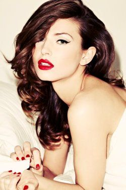Scarlet Red Lips | Winter Beauty Trends | Lipstick | Red Nails|