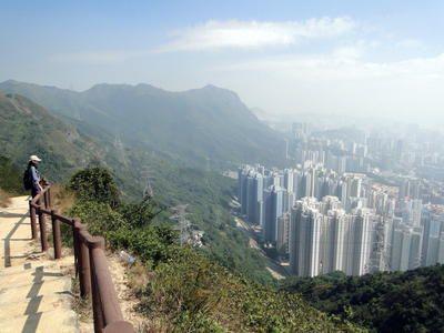 Hong Kong Hikes - Rock Peak Hike – MacLehose Trail #5 (overlooking city)