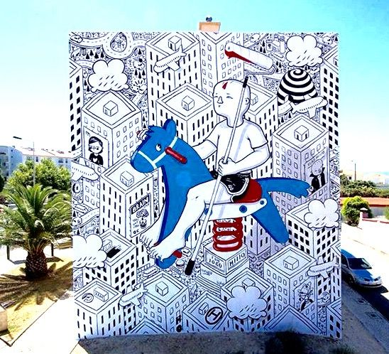 Portugal  iii in Millo Street Art lyte by run asics    Street  LP  size   Alternative Cascais  Portugal    gel      Art Lps  amp  and Art