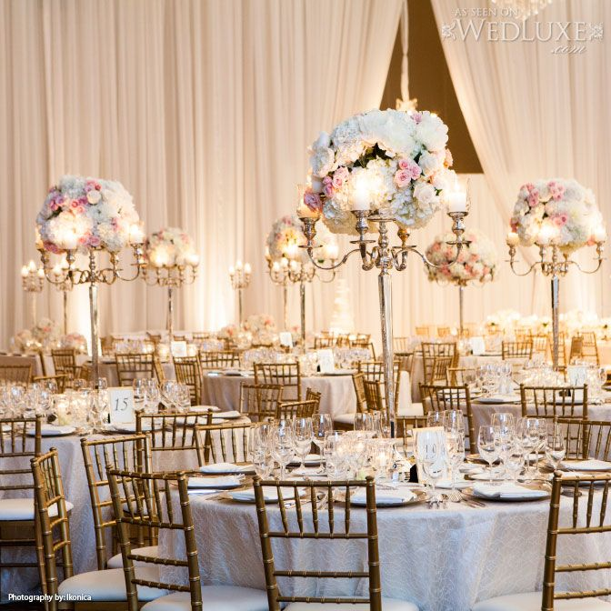 Elegant Classic And Romantic White Blush Wedding Tones Design By Frank Reas Designs Florals Decor Forget Me Not Fl