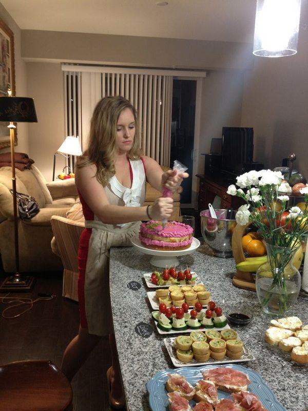 How I threw a pinterest housewarming party