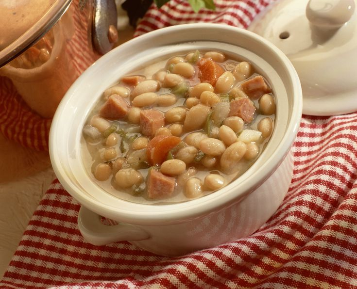 Feed a Crowd with the Easiest Big Batch White Bean and Ham Soup Ever