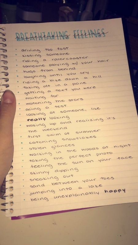 Everything except skinny dipping lol I don't ever wanna do that