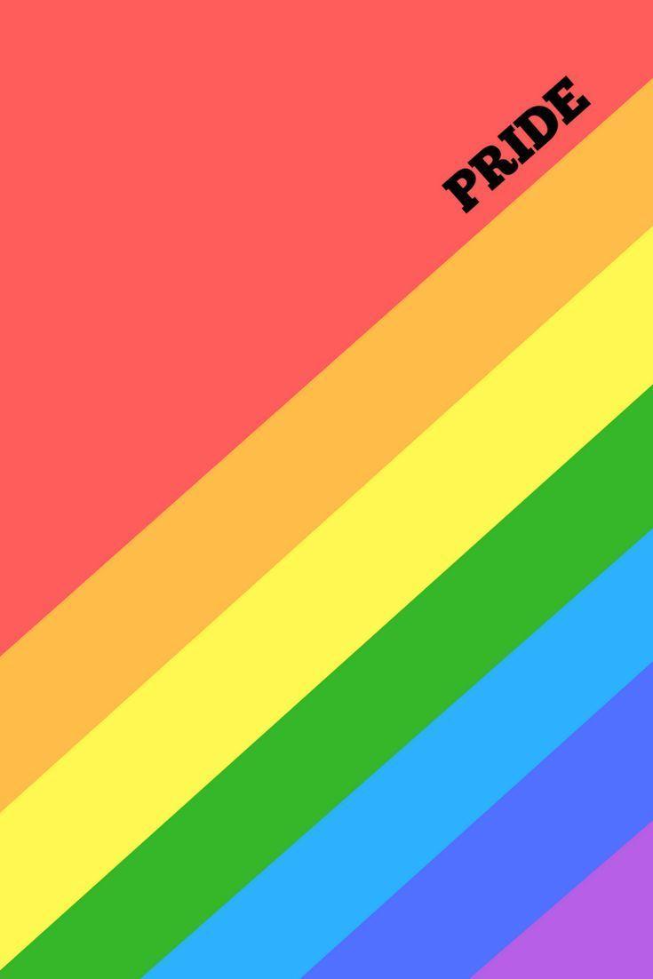 Pride Rainbow Art Prints Digital Download Set Of 2 Bonus Desktop Wallpaper Rainbow Pride Rainbow Art Rainbow Wallpaper