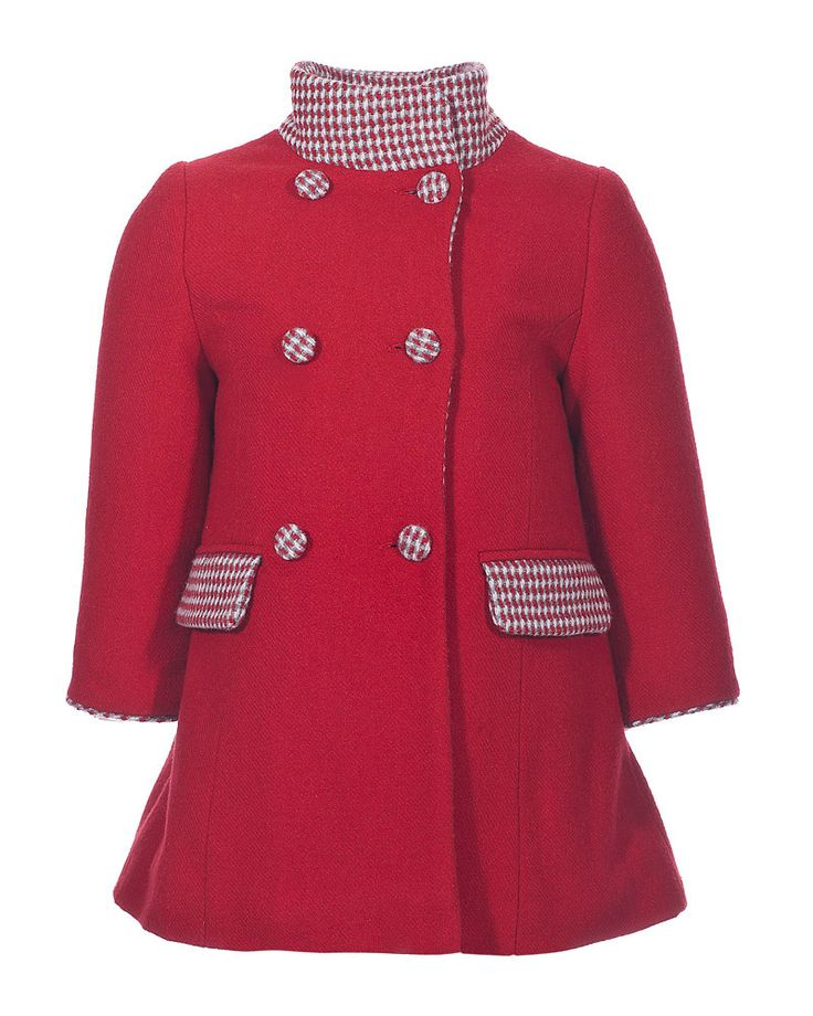 Marasil Red Coat available at Westfield London