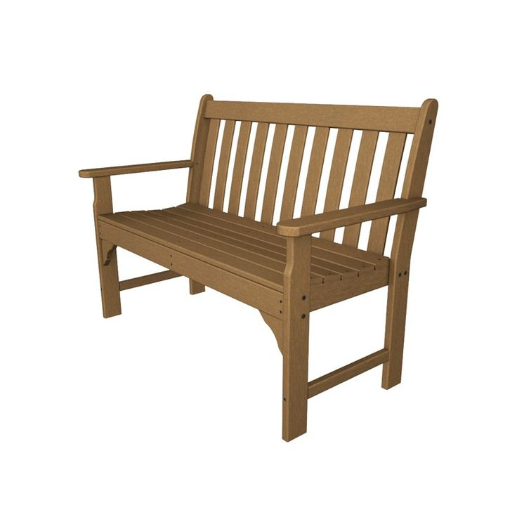 Polywood Vineyard Bench Collection 491562152 Rustic Outdoor Furniture Adirondack Chairs