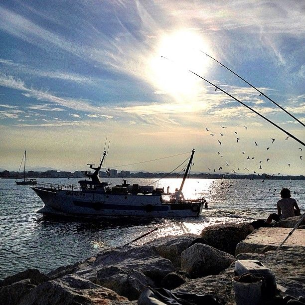 Rimini, canal port - Instagram by @fabio33