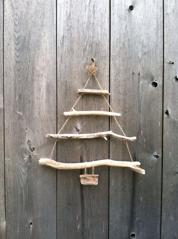 71 best for Hanging driftwood christmas tree