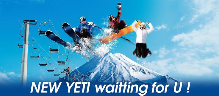 NEW YETI waitting for U !