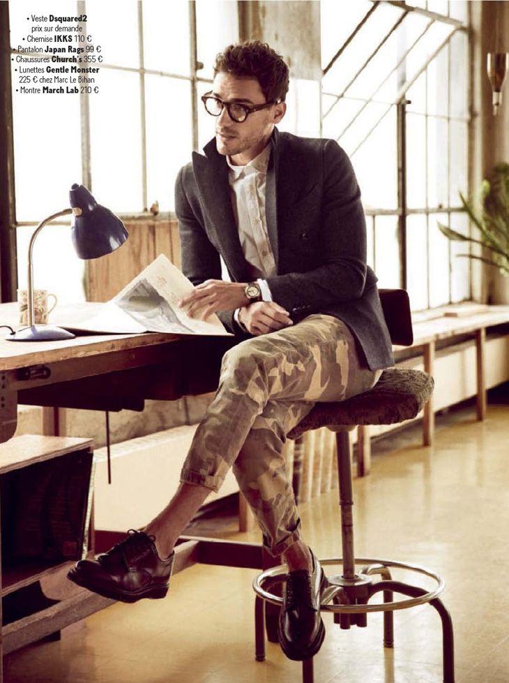 Arthur Kulkov by Arnaldo Anaya Lucca for GQ France   #men #fashion