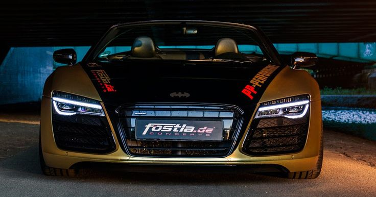 Fostla Upgrades The Audi V10 Spyder For The Price Of A New Focus #Audi #Audi_R8