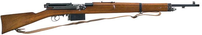 The Mexican Mondragón rifle is believed to be the world's first self-loading rifle. Having first appeared in 1887.jpg