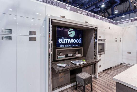 For those of you unable to visit the Elmwood booth at KBIS this year, here are a few shots of the new display that wowed everyone
