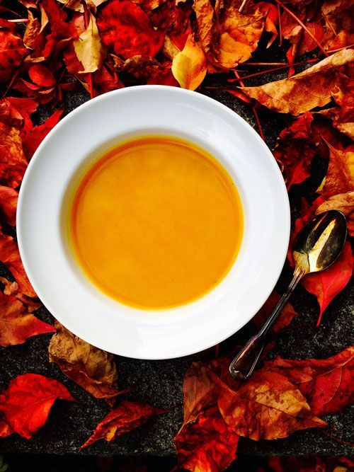 #Pumpkinsoup with #superfood #SACHANCHI - after Halloween a good & healthy choice to avoid leftovers.