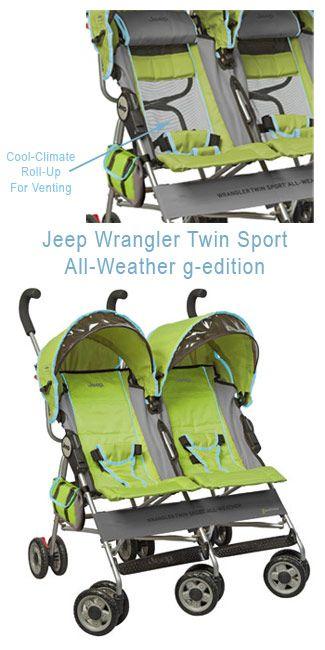 twin Jeep Stroller