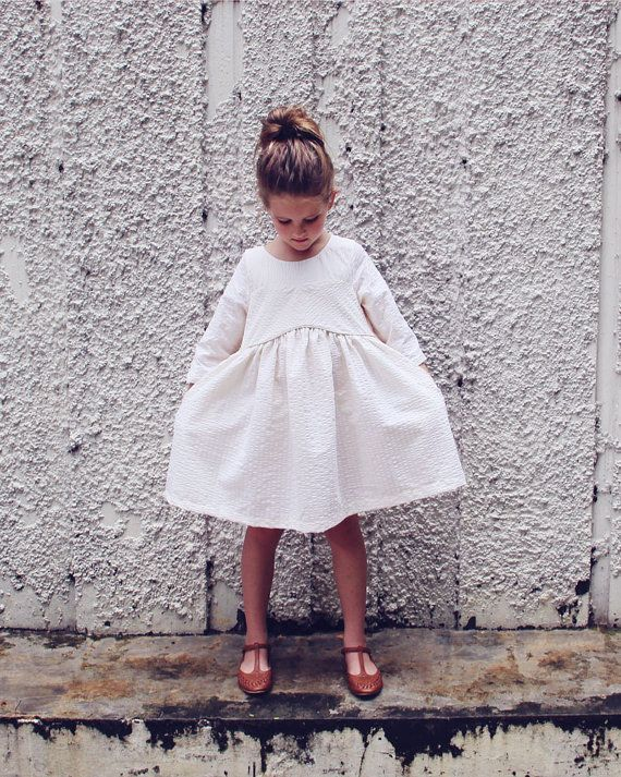 Gardenia Dress PDF pattern and tutorial - sizes 2t-10, children's sewing pattern - Instant download