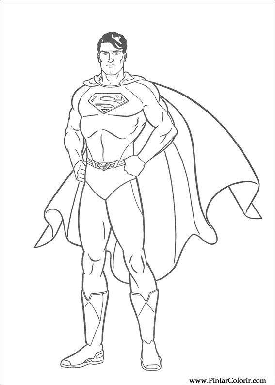 Gratis Kleurplaten Superman.Superman Tekenen Google Zoeken In 2019 Kleurplaten
