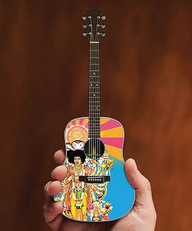 Love this Jimi Hendrix Axis: Bold As Love Replica Acoustic Guitar on #zulily! #zulilyfinds