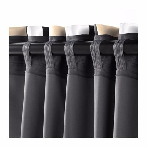 ikea - cortinas suecas black out praktlilja riel o barral