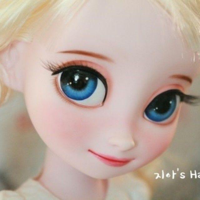 Instagram media by ji_a.n.babydoll - #disneybabydoll #babydollelsa #babydoll #Elsa #doll #disney #dollcustom #디즈니베이비돌 #디즈니베이비돌리페인팅 #베이비돌엘사 #베이비돌