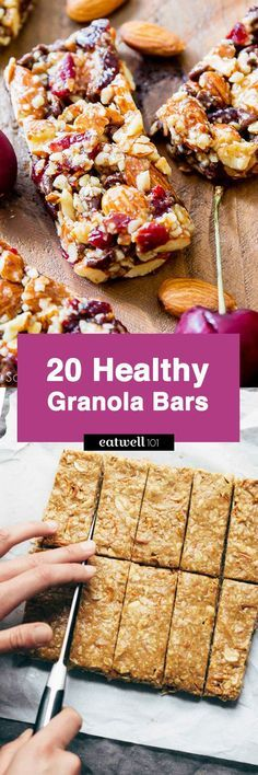 Healthy Homemade Granola Bars – If you want satisfy your snack cravings, these Healthy granola bars areyour go-to nutritioncompanion to fuel your day!