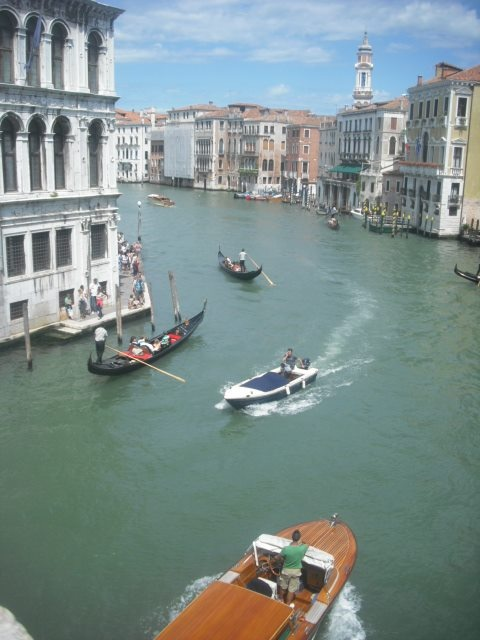 Venice <3 This moment was amazing, I was stood in a postcard
