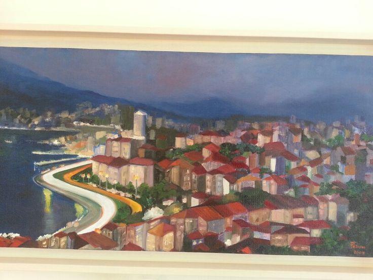 Oil on canvas - Fusun Ogreten